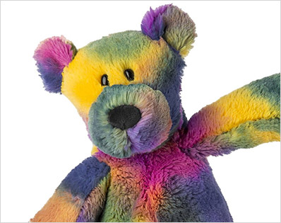 Tie Dye Stuffed Animals at deep discounts